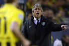 Manuel Pellegrini will leave Malaga at the end of the season (Reuters file)
