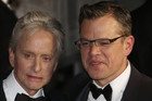 Michael Douglas and Matt Damon at the 2013 Cannes Film Festival (Reuters)