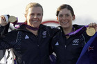 Jo Aleh and Olivia Powrie, London 2012 Olympic gold medalists (Reuters file)