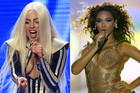 Lady Gaga; Beyonce Knowles (Photos: Reuters)