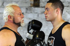 Francois Botha and Joseph Parker (photosport)