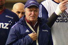 Sir Graham Henry at Blues training