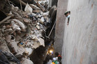 The collapsed Rana Plaza building in Savar, Bangladesh (Reuters file)