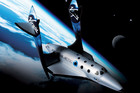 The Virgin Galactic ship (AAP)