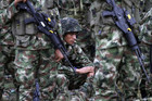 The attack was the biggest blow to Colombia's military since February (Reuters)