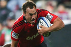 Israel Dagg is back at fullback for the Crusaders (Photosport file)