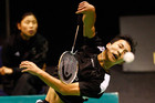 Kiwi badminton player Joe Wu (Photosport file)