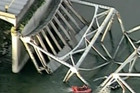 Three people were injured in the bridge collapse (file)