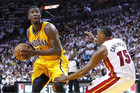 Roy Hibbert in action for the Pacers (Reuters)