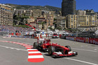 Ferrari Formula One driver Fernando Alonso of Spain drives during the first practice session in Monaco (Reuters)