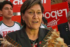 Meka Whaitiri has beaten five other hopefuls to represent Labour in the Ikaroa-Rawhiti by-election