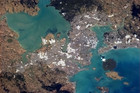 Auckland, as seen from space (NASA)