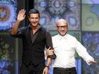 Italian designers Stefano Gabbana (left) and Domenico Dolce (Reuters)