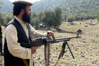 A file photo of Taliban commander Wali ur Rehman, who was killed by a US drone attack (AAP file)