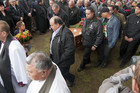 Around 1500 people gathered at Hauiti Marae for Parekura Horomia's send off (Graeme Mulholland)