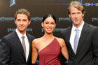 Shia Labeouf, Megan Fox and Michael Bay (AAP)