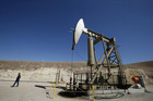 A pumpjack drills for oil in the Monterey Shale, California (Reuters)