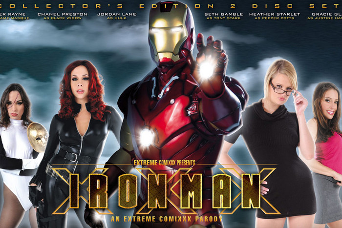 Iron Man XXX - An Axel Braun Parody