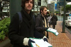 Campaigners gather signatures in Auckland