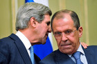 US Secretary of State John Kerry and Russian Foreign Minister Sergei Lavrov (Reuters)