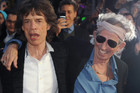Mick Jagger and Keith Richards (AAP)