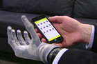 Users can control a prosthetic hand with a smart phone