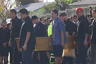 Mourners gather at Kelston Intermediate (3 News)