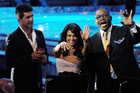 Cowell, Abdul and Jackson (Reuters)