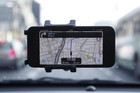 Waze, an Israeli mobile satellite navigation application (Reuters)