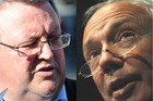 Gerry Brownlee and Bob Parker (AAP)