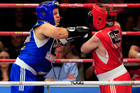 Dwarf boxers Matthew Wood and Colin Lane (photosport)