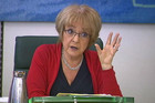 Committee chair Margaret Hodge rejected arguments that Google's advertising sales take place in Ireland and not the UK (Reuters)