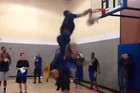 Andre Drummond dunks all over Chris Brown
