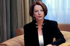 Julia Gillard rejected the suggestion that her partner is gay
