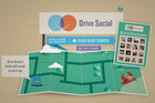 The website is called Drive Social