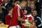 The British and Irish Lions defeated New South Wales Waratahs 47-17 for their fifth straight tour victory (Reuters)