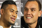 Julian Savea and Israel Dagg