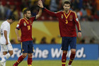 Spain had 77 percent of the possession in the first half, and 71 in the match (Reuters)