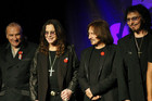Original members of the rock band Black Sabbath (photo: Reuters)