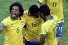 Only one game into the Confederations Cup, and Brazil is already talking about a possible matchup with Spain (Reuters)