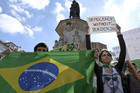 More than 240,000 protesters have joined together in Brazil (NZN)