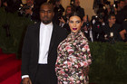 Kim Kardashian and Kanye West in May (Reuters)