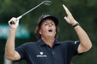 Phil Mickelson is familiar with picking up the runners-up medal at the US Open (Reuters)