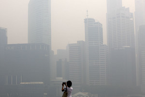 Singapore air pollution hit its worst level in nearly 16 years