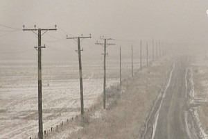 In parts of Otago its forecast to snow for another three days