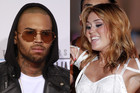Chris Brown; Miley Cyrus (Photos: Reuters)