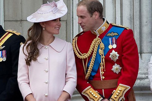 The Duchess of Cambridge and Prince William (Reuters)