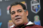 Queensland State of Origin coach Mal Meninga (AAP)
