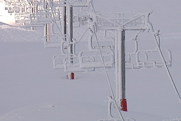 Equipment at Mount Hutt ski field in Canterbury has been damaged by a controlled avalanche