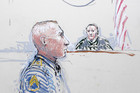 A courtroom sketch of Army Staff Sgt Robert Bales (Reuters)